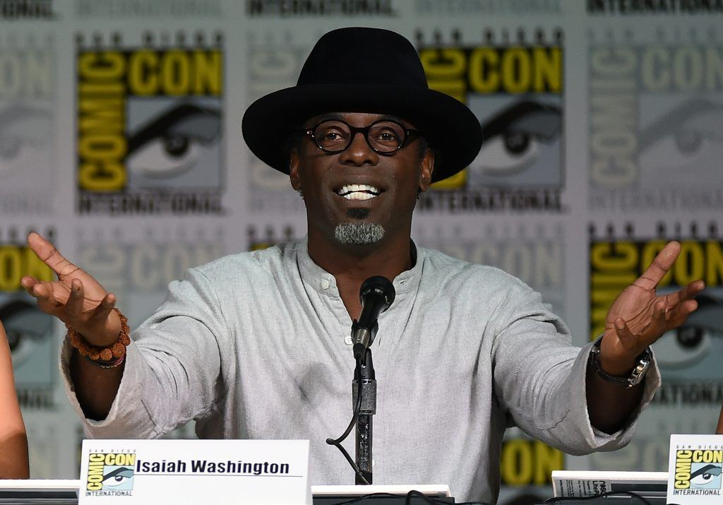 Isaiah Washington | Ethan Miller/Getty Images