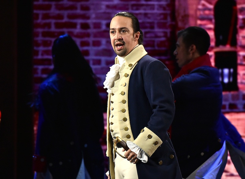Lin-Manuel Miranda of 'Hamilton' | Theo Wargo/Getty Images