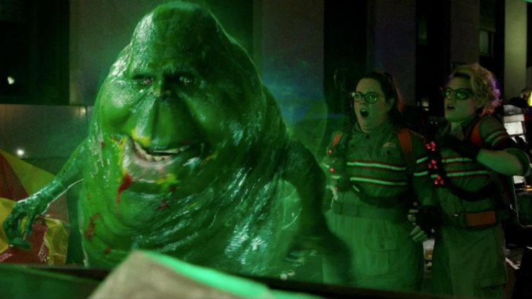 Melissa McCarthy and Kate McKinnon in Ghostbusters