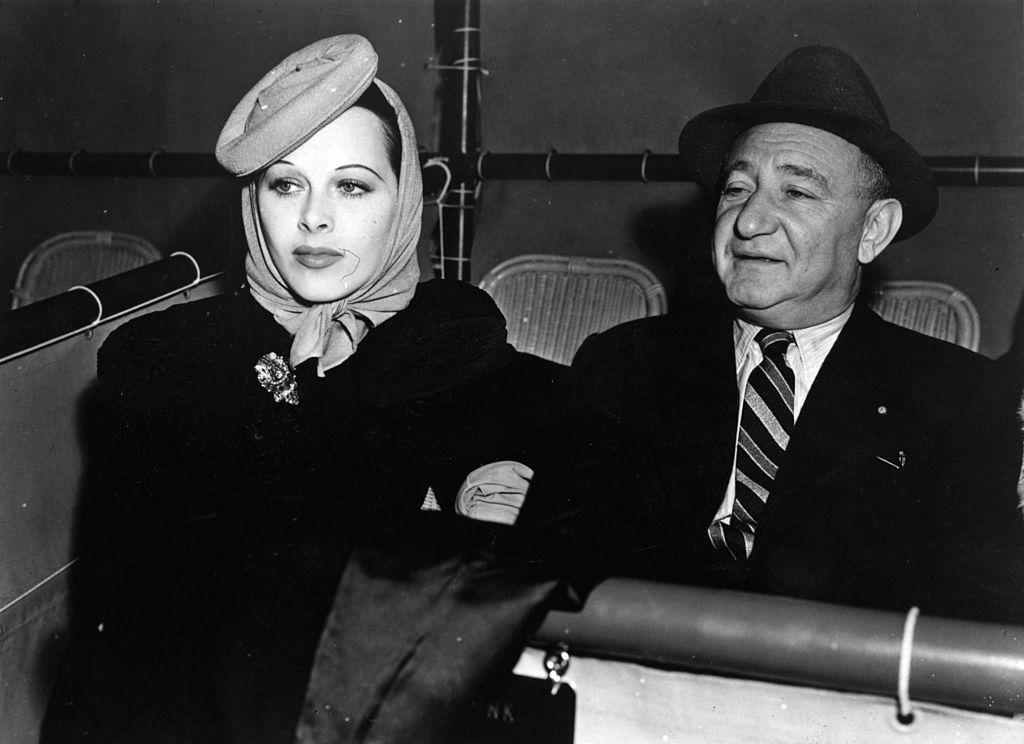 Hedy Lamarr film executive Joseph Shenck