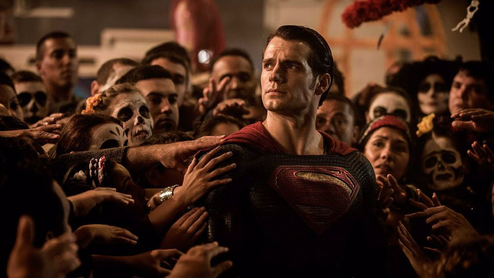 Henry Cavill in Batman v Superman Dawn of Justice