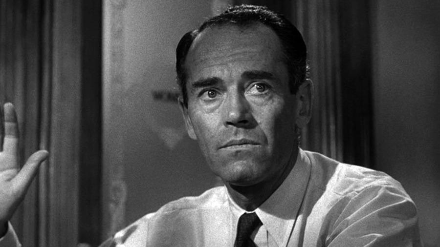 Henry Fonda in 12 Angry Men