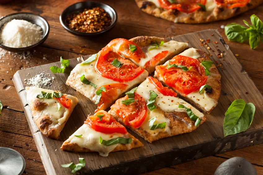 Margarita Flatbread Pizza