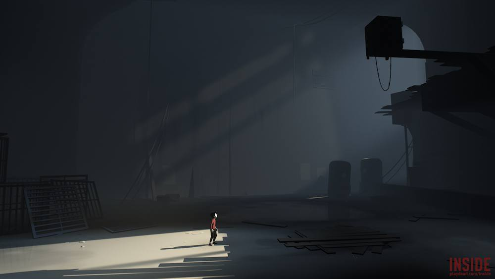 A boy tries to break into a mysterious facility.
