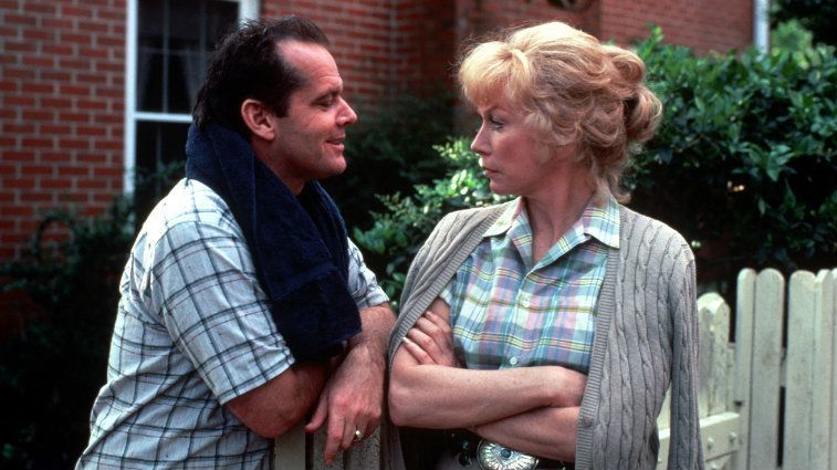 Jack Nicholson and Shirley MacLaine in Terms of Endearment