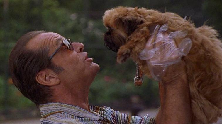 Jack Nicholson in As Good as It Gets