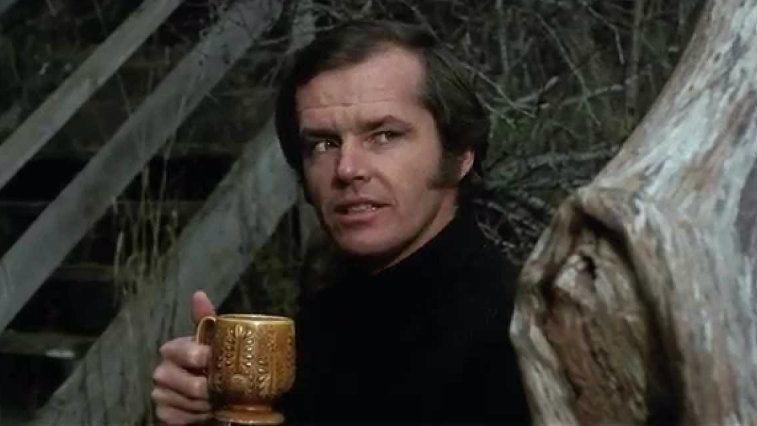 Jack Nicholson in Five Easy Pieces