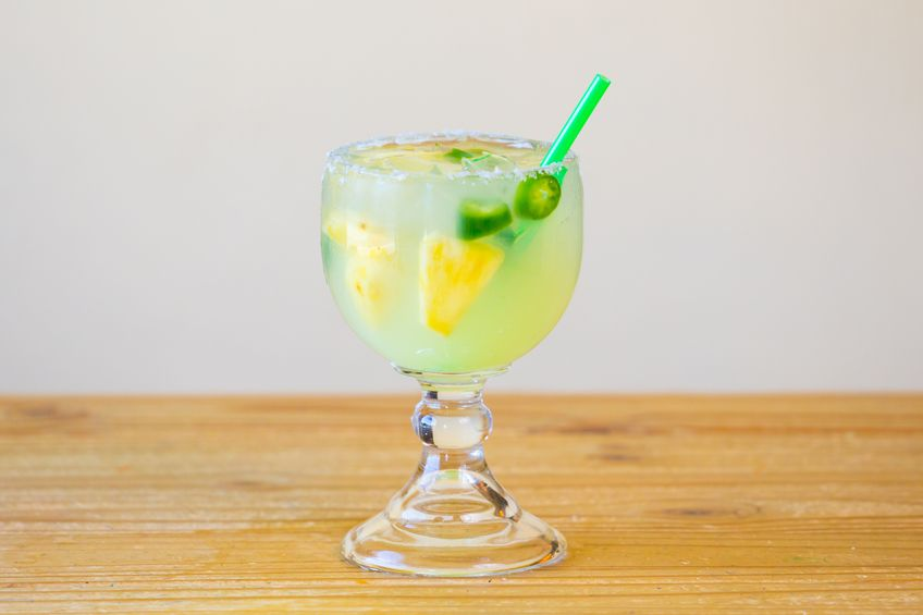 Sriracha Jalapeno cocktail