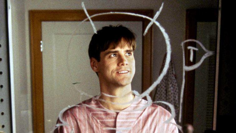 Jim Carrey in The Truman Show