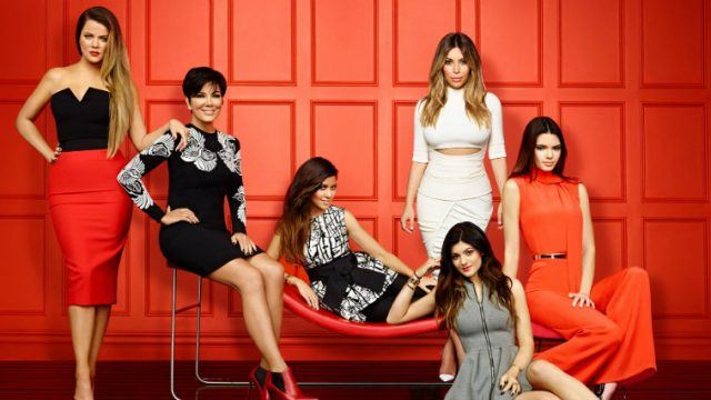 Keeping Up With the Kardashians promo shot