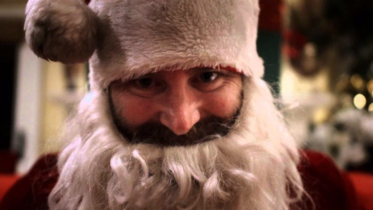 Kirk Cameron dons a Santa Claus outfit in Saving Christmas