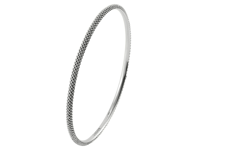 LAGOS caviar bangle