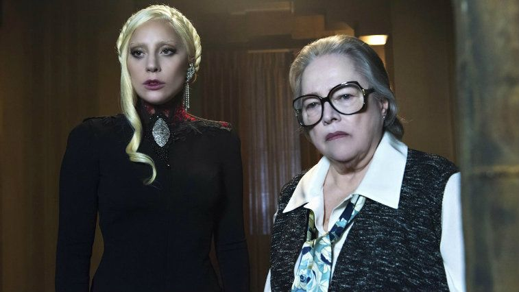 Lady Gaga and Kathy Bates in American Horror Story