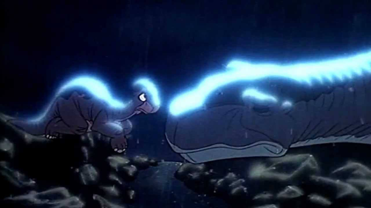 The death of Littlefoot's mom in 'The Land Before Time'
