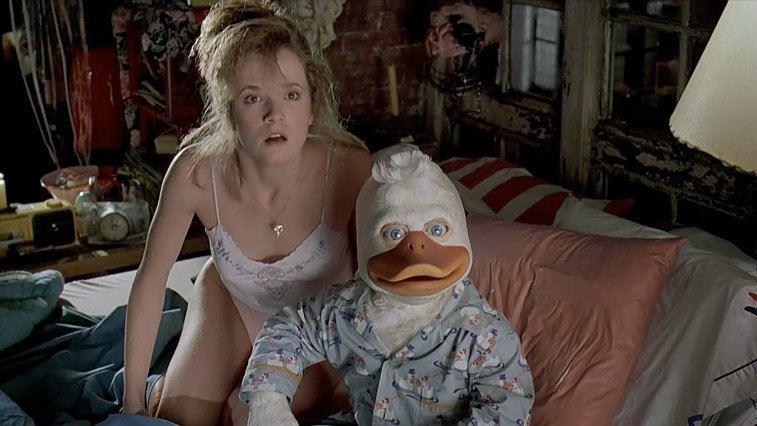 Lea Thompson in Howard the Duck