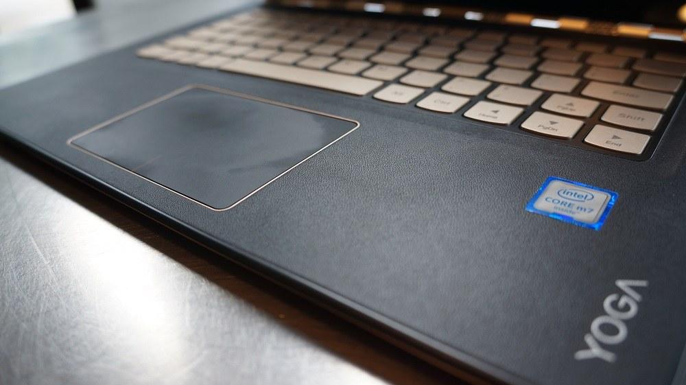 Lenovo Yoga 900s touchpad