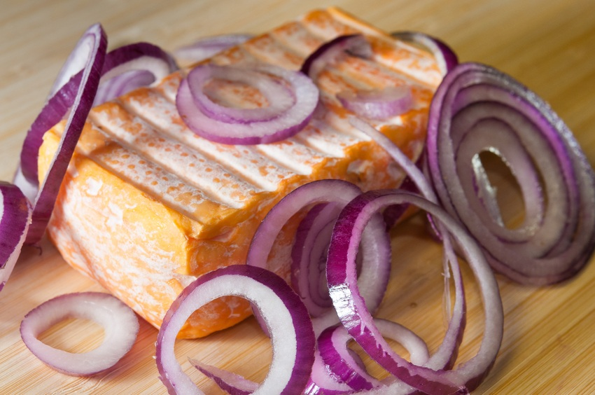 Limburger with onions