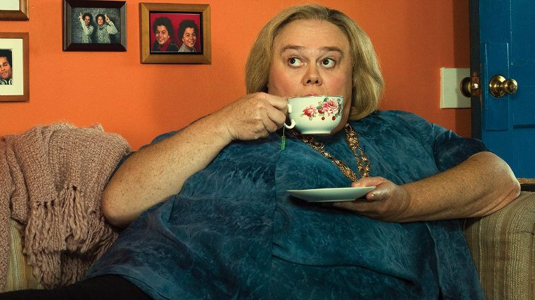 Louie Anderson in Baskets