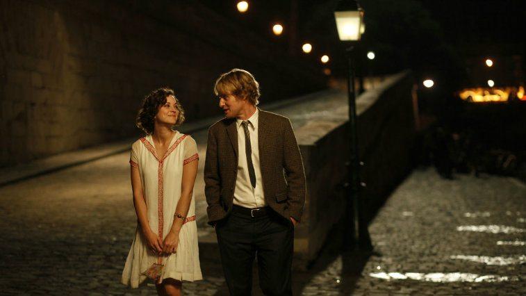 Marion Cotillard and Owen Wilson in Midnight in Paris