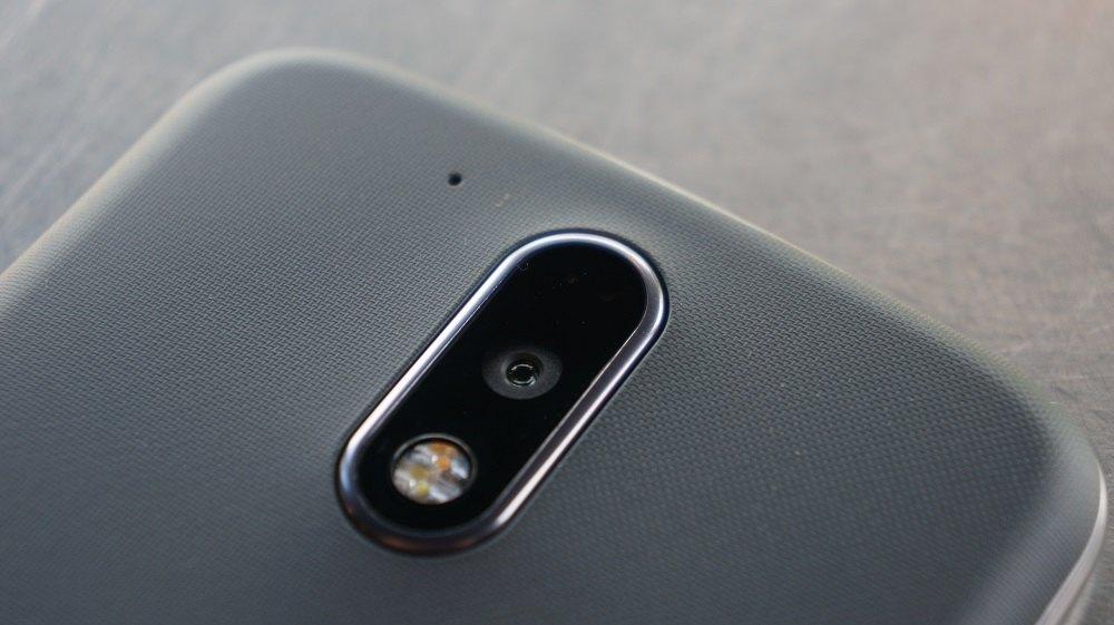 Moto G4 Plus 16MP camera