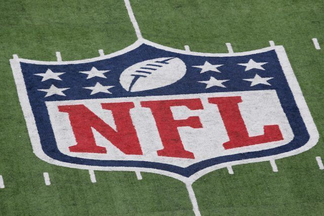 NFL sign on field