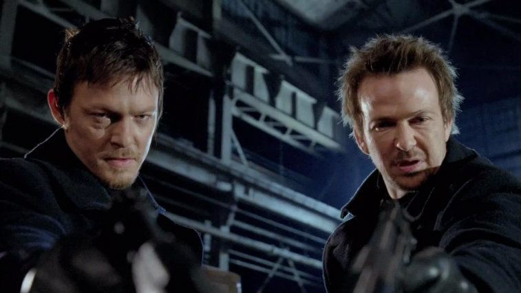 Norman Reedus and Sean Patrick Flanery in The Boondock Saints II: All Saints Day