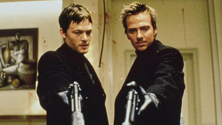 Norman Reedus and Sean Patrick Flanery in The Boondock Saints