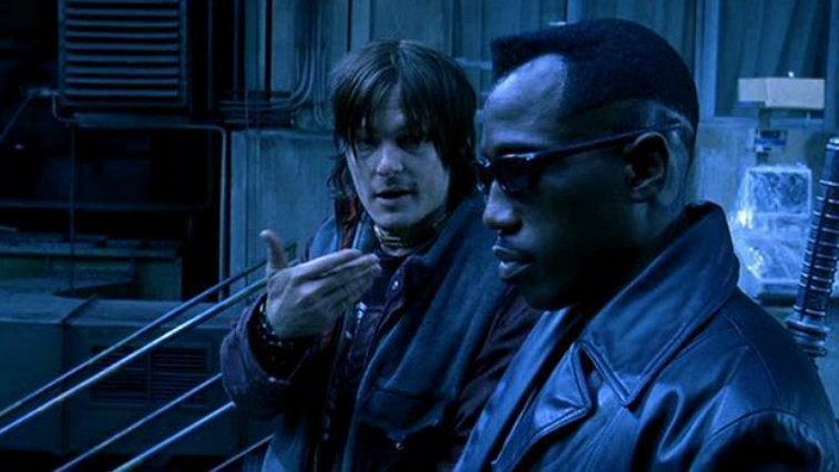 Norman Reedus and Wesley Snipes in Blade II