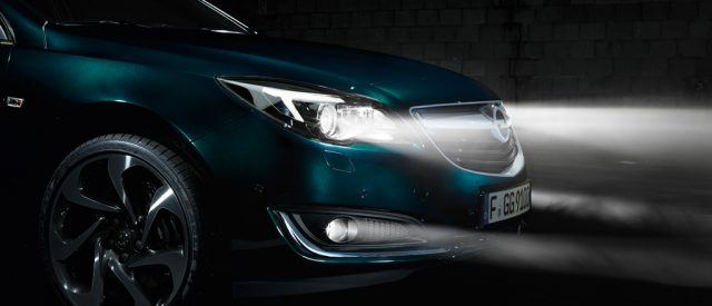 Opel Insignia lights