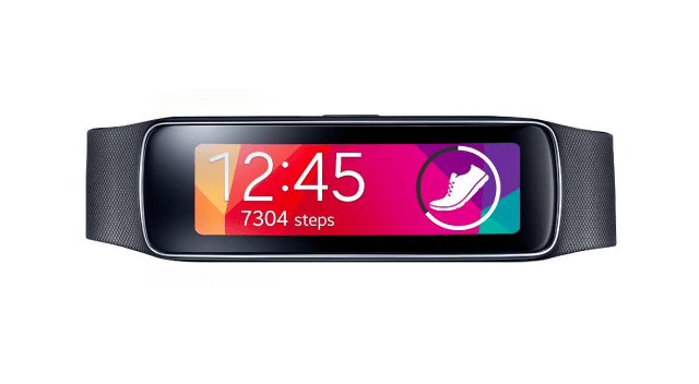 Samsung Gear Fit - best fitness band