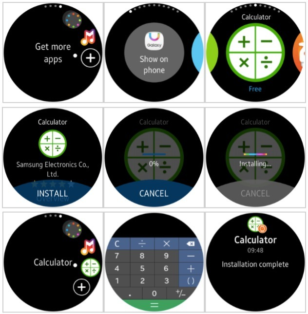 Samsung Gear S2 update preview