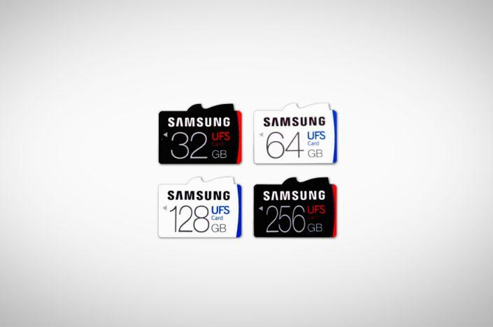Samsung UFS cards