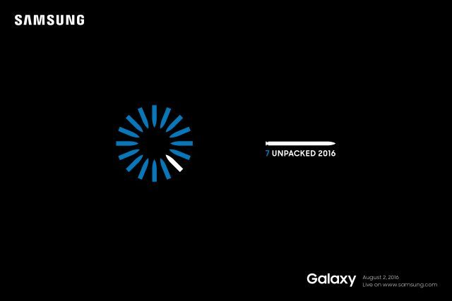 Samsung Unpacked Galaxy Note 7