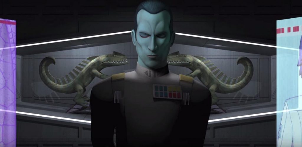 Grand Admiral Thrawn on Season 3 of Rebels