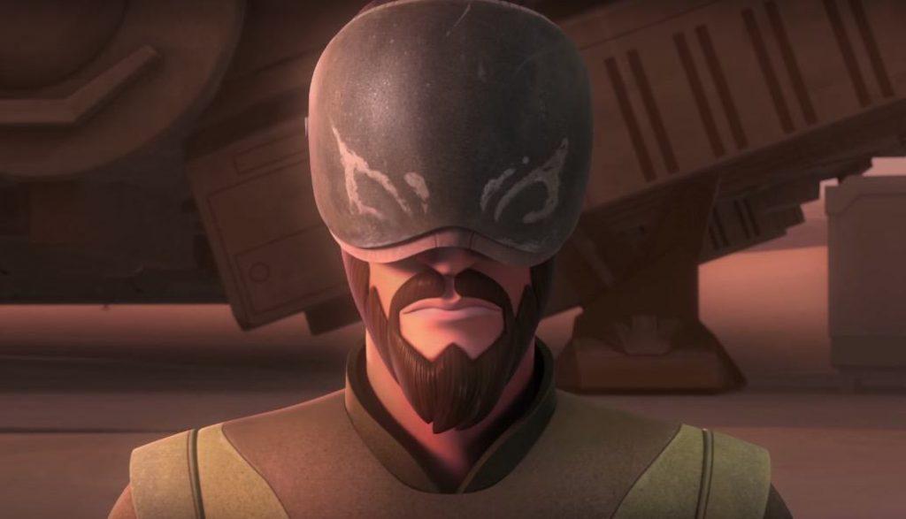 Kanan in Star Wars Rebels Season 3