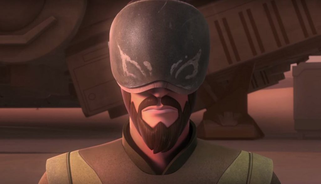 Kanan in Star Wars Rebels Season 3