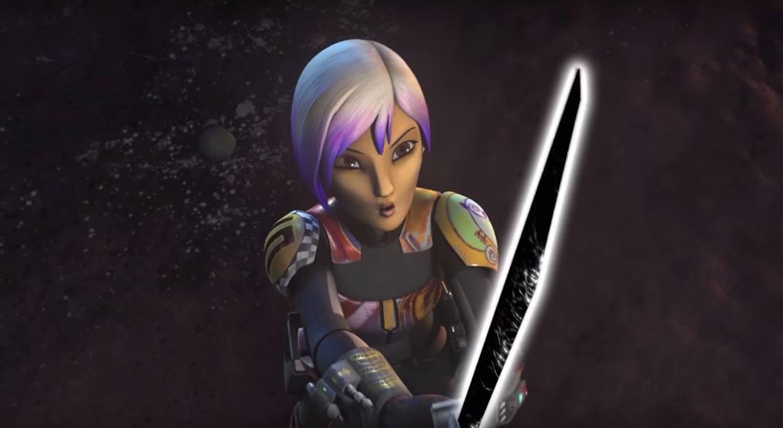 Sabine and the Darksaber - Star Wars Rebels Season 3