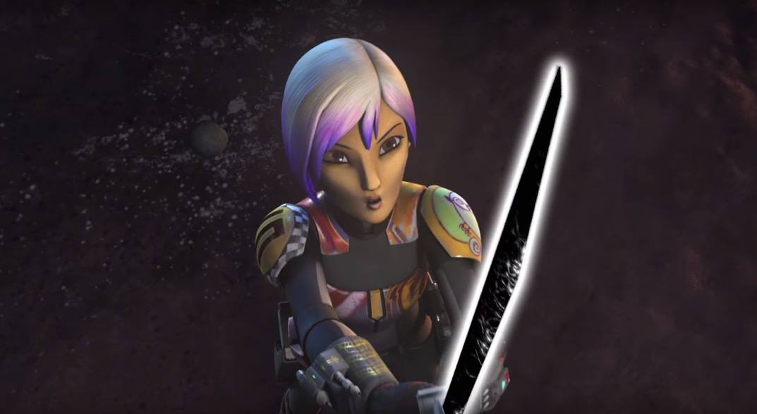 Sabine and the Darksaber - Star Wars Rebels Season 3