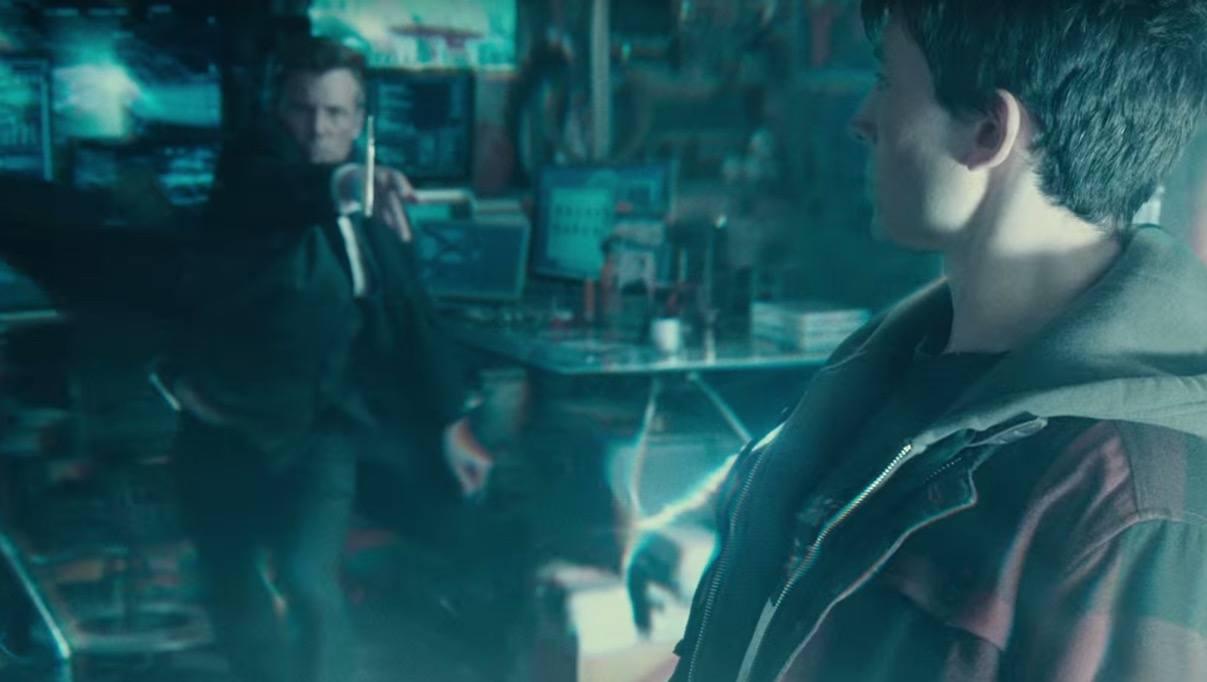 Ezra Miller as the Flash - Justice League Comic-Con Trailer