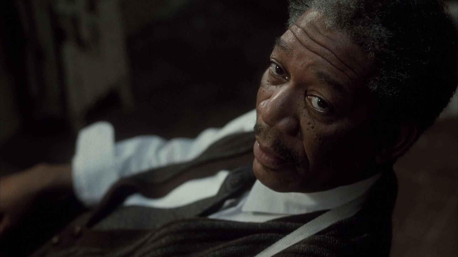 Morgan Freeman in Se7en