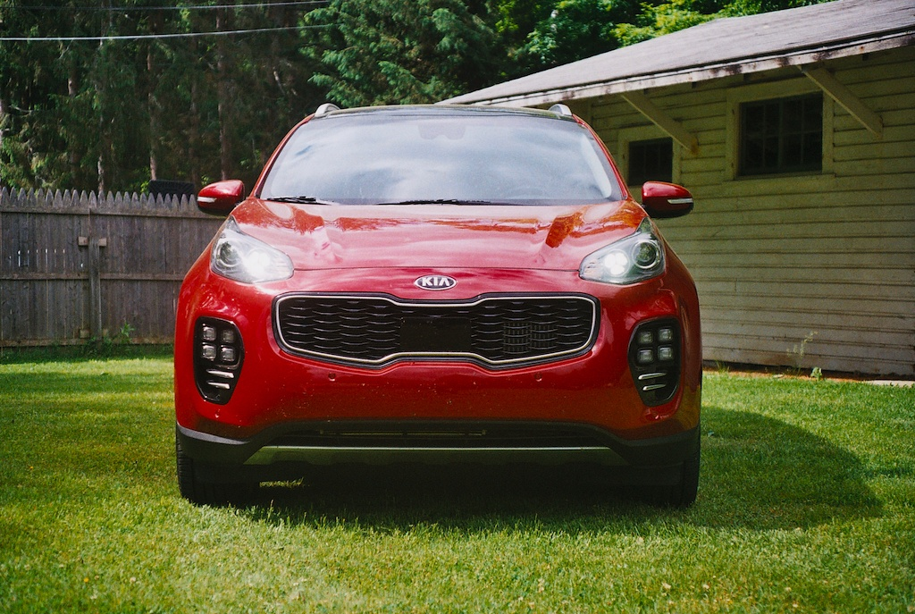 Kia Sportage exterior