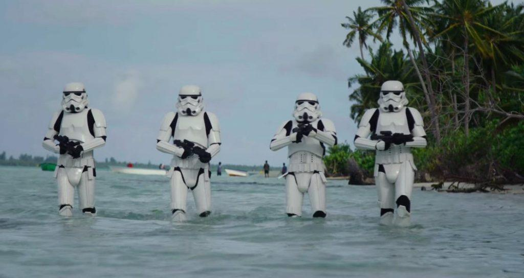 Stormtroopers in Rogue One