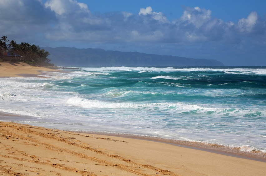 sunset beach on Oahu's North Shore