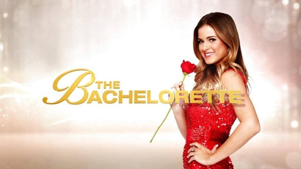 JoJo holds a rose on The Bachelorette promo poster