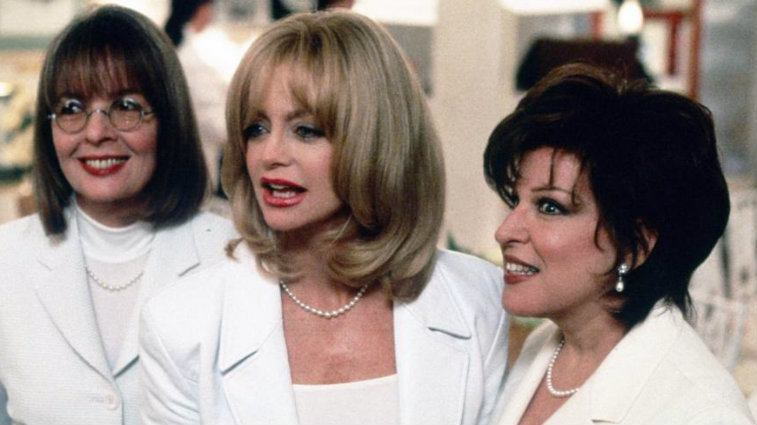 Diane Keaton, Goldie Hawn, and Bette Midler in The First Wives Club