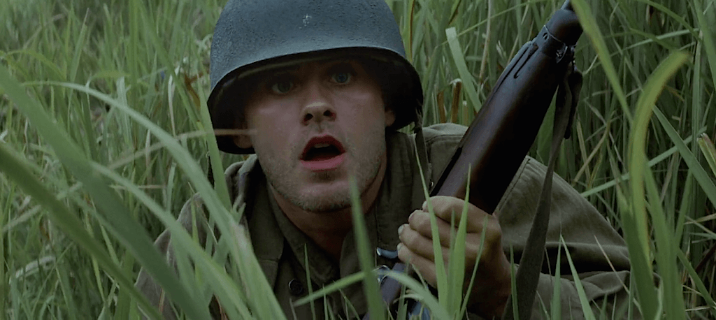 Jared Leto in 'The Thin Red Line'