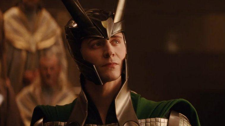 Tom Hiddleston in Thor