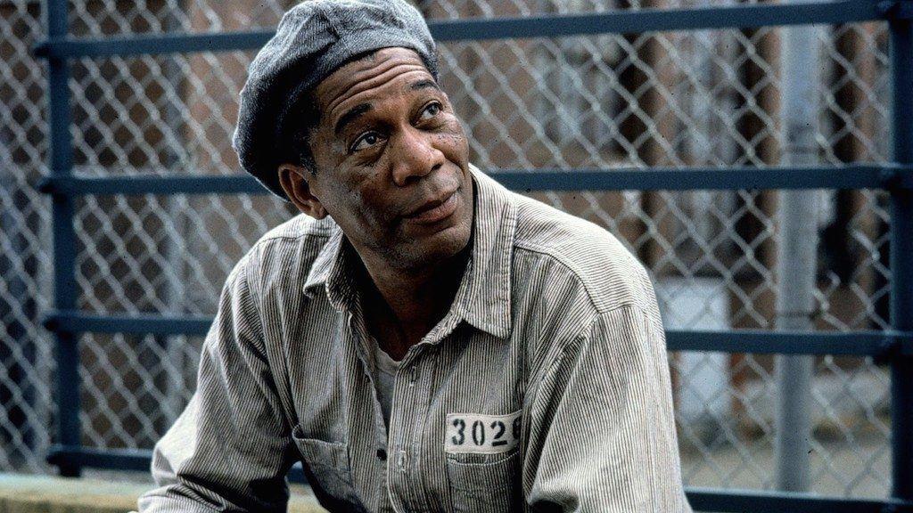 Morgan Freeman - The Shawshank Redemption