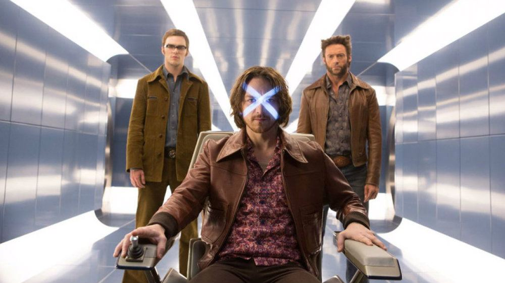Hank McCoy, Charlies Xavier, and Logan in X-Men: Days of Future Past