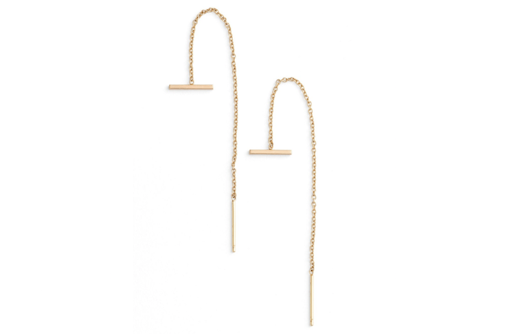 Zoe Chicco threader earrings